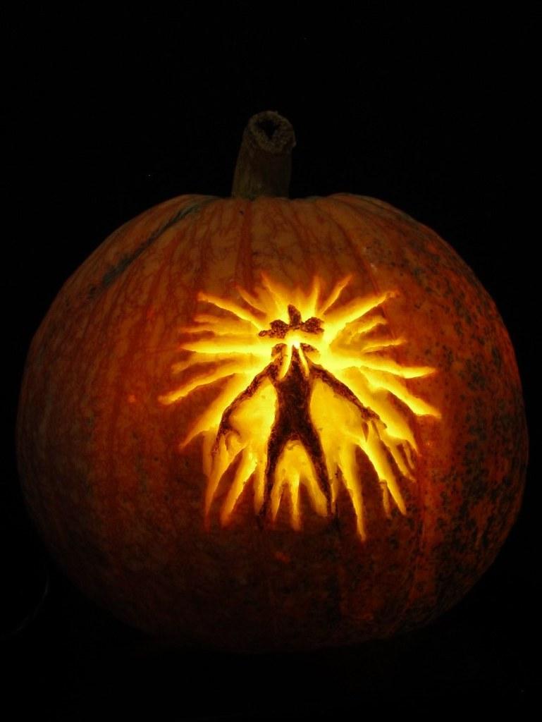 Demogorgon Stranger Things Pumpkin Anniejoshdc Flickr