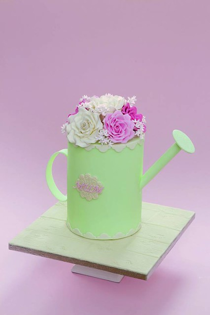 Watering Can Cake by FMM Sugarcraft