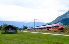 Regionalexpress bei Oberau