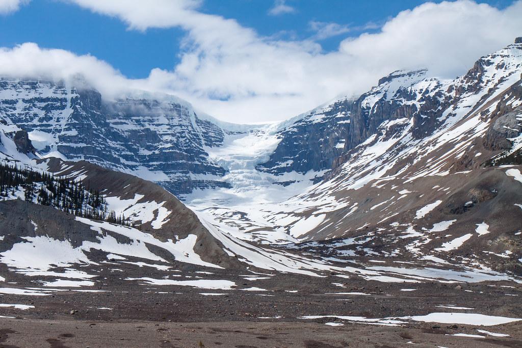 Jasper National Park. Athabasca Glacier