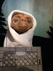 E.T. figure at Madame Tussauds London