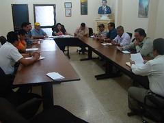 Reunión del COE con área comunicacional