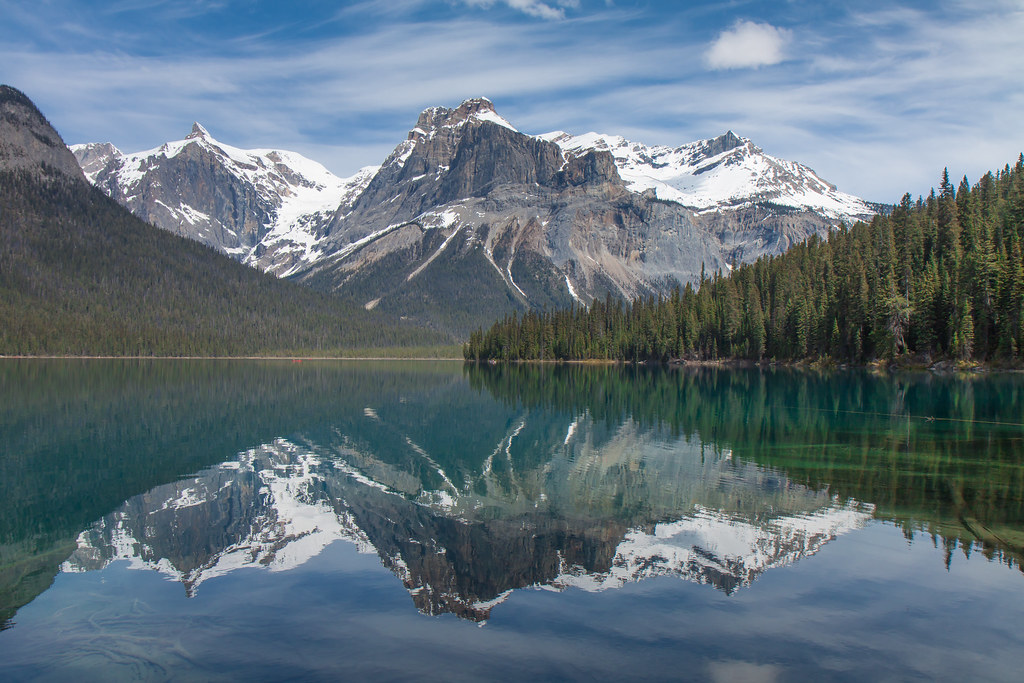 Yoho National Park. Emerald Lake