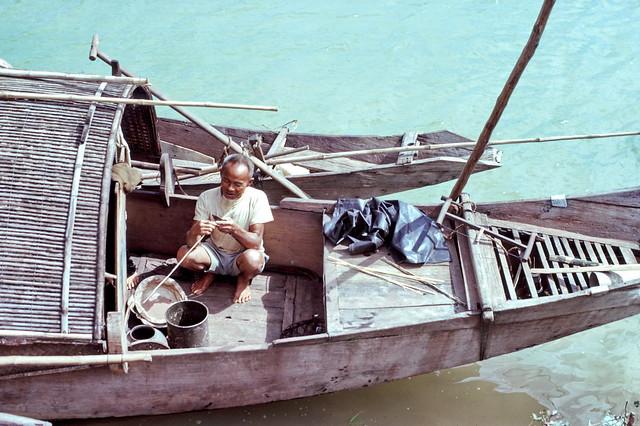 Quang Tri 1967 - Photo by Edward Palm - Boatman