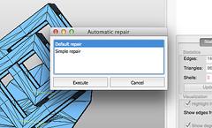 Netfabb - script de reparación
