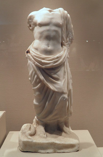 Statuette of Asclepius, 2nd century AD, Villa of the Quintili, Via Appia, Rome