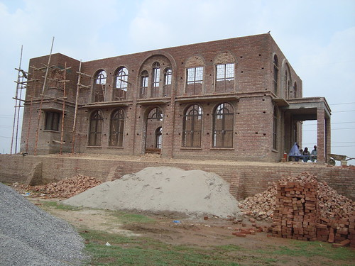 OCMC News - Construction of First Orthodox Church in Pakistan Nearing Completion