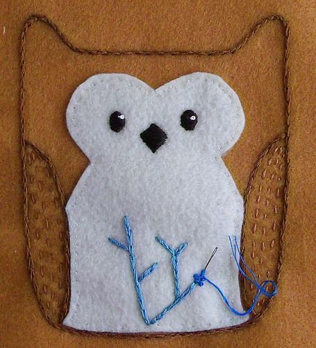 WIP - Doodle stitch owl