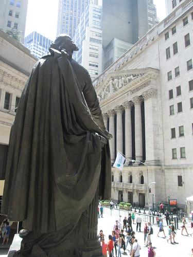 Wall Street, NYC. Nueva York