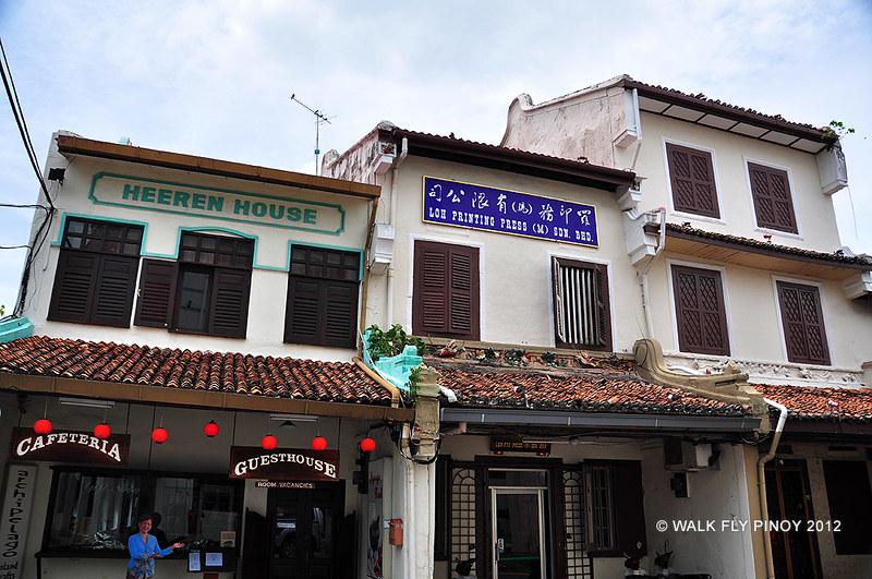 Malacca Old Town, Malaysia