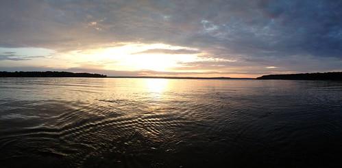 sunset lake mulletlake