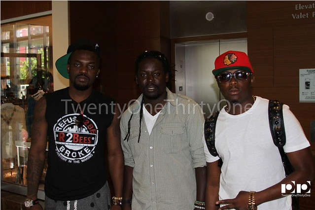 Jay Foley caught up with R2Bees and Ice Prince at BET Awards 2013 (7)