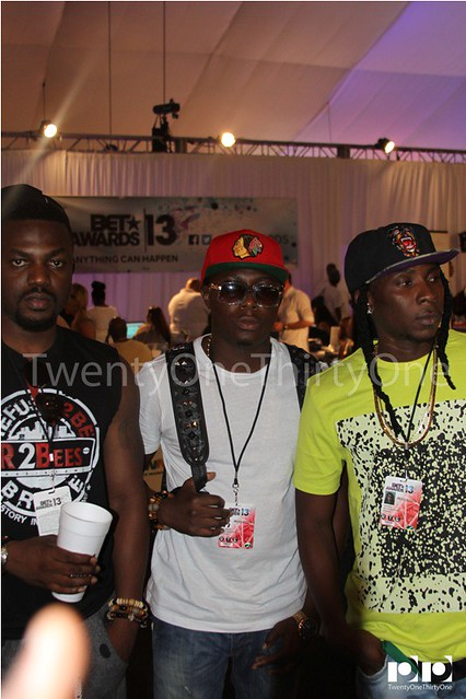 Jay Foley caught up with R2Bees and Ice Prince at BET Awards 2013 (15)