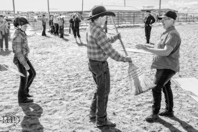 Gooseberry Lake : 4-H Rodeo 2013 : ...and your little dog, too!