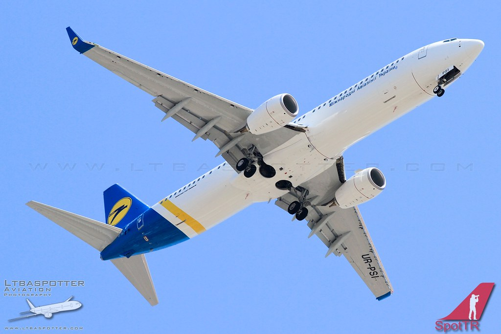UR-PSI - B739 - Ukraine Int. Airlines