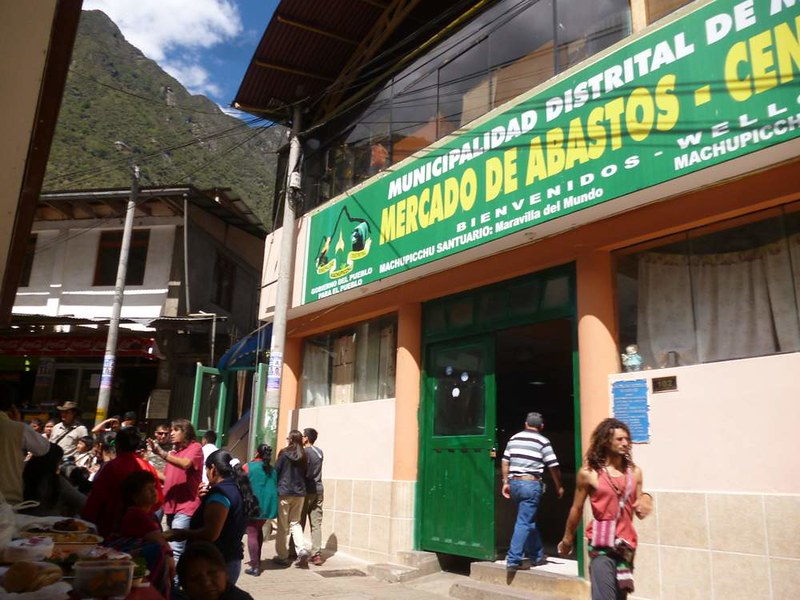 Go to Aguas Calientes market for cheap food