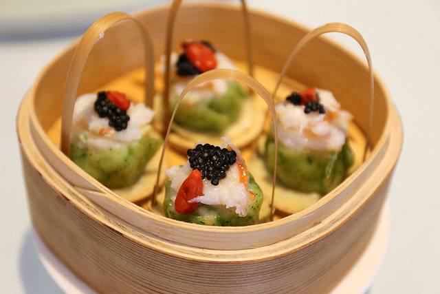 Steamed Lobster Dumpling