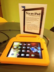 Try an iPad at the library
