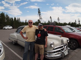 Gary and Dave at Yellowstone