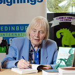 Joan Lingard book signing | Joan Lingard has been to every Book Festival since we began in 1983.