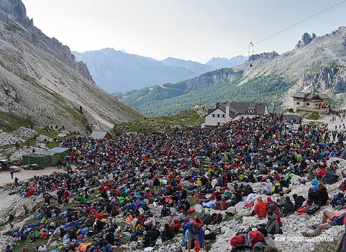 Dolomites - Val di Fassa - Vinicio Capossela at Vajolet 17
