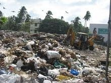 The garbage crisis in Thiruvnathapuram city
