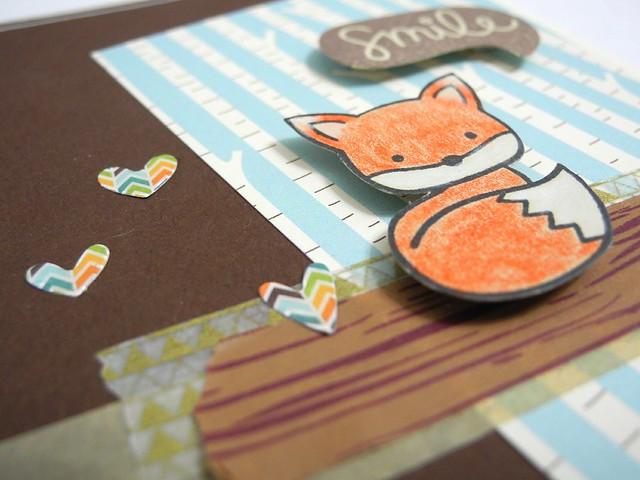 Foxy Smile (detail)