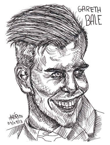 (58) Gareth Bale, footballer at Real Madrid by americoneves