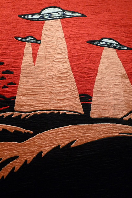 textile detail at OCMA