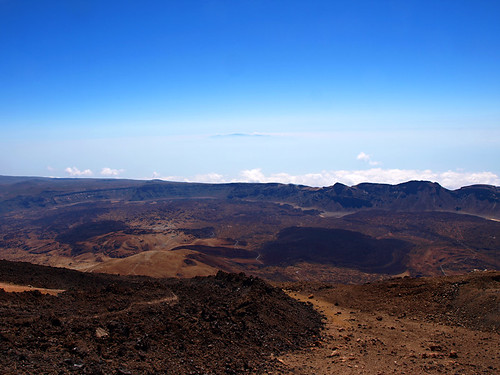 View From Upper Cable Car, Mount Teide, Tenerife