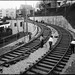 Construction of J Line S Curve Between 20th and Liberty Streets | June 8, 1916 | W3329 by SFMTA Photo Archive