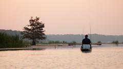 Kayak Fishing on Cypress Black Bayou