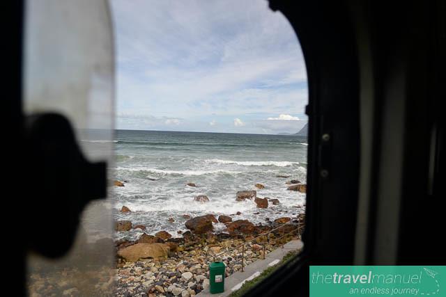 Train ride to Kalk Bay