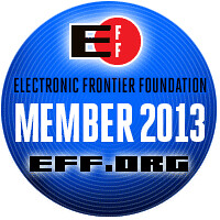 Electronic Frontier Foundation by Chris Hunkeler