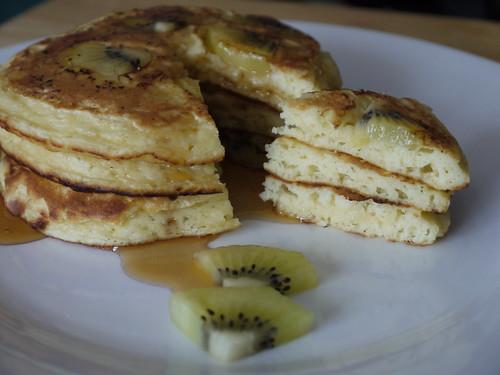 Kiwifruit Pancake Stack