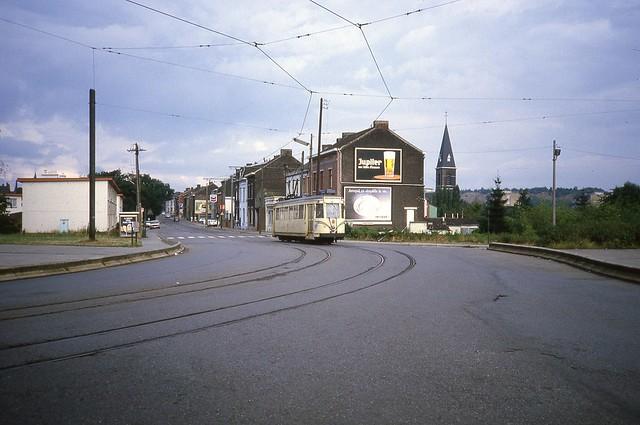 19840906 Charleroi, Lodelinsart; Rue Emile Vandervelde / Rue du Ravin