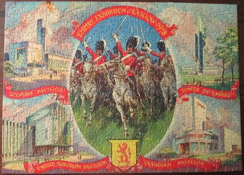 Souvenir Jigsaw of Empire Exhibition 1938