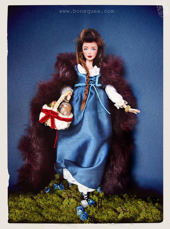 Ooak Barbie Caperucita. Charity Auction