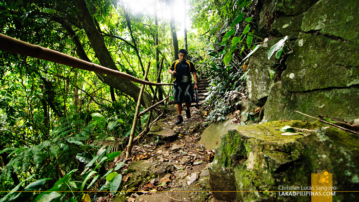 The Trail to Tinago Falls in Iligan City