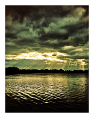 Afternoon sky at Watermead CP,Leicester#Leicester#camera+ by davidearlgray