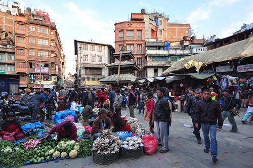 Nepal - Kathmandu - Street Life - 05