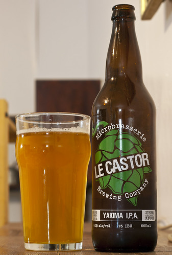 Review: Microbrasserie Le Castor's Yakima IPA by Cody La Bière