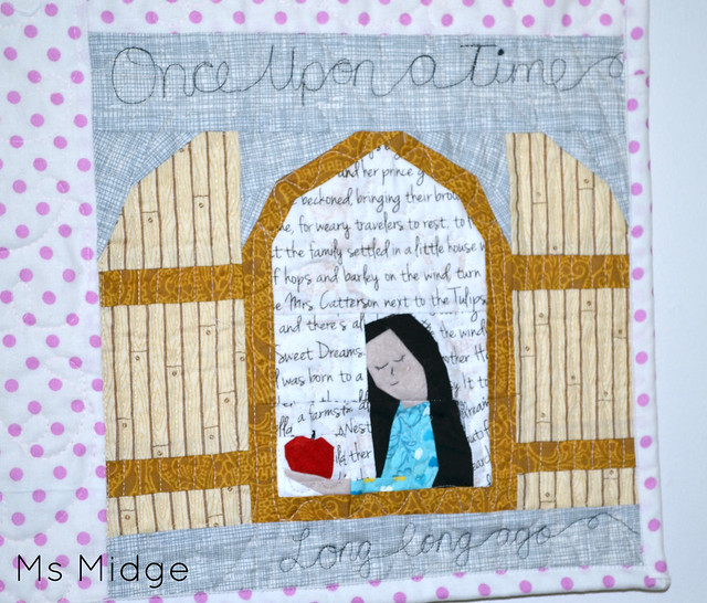 Paper Pieced Snow White