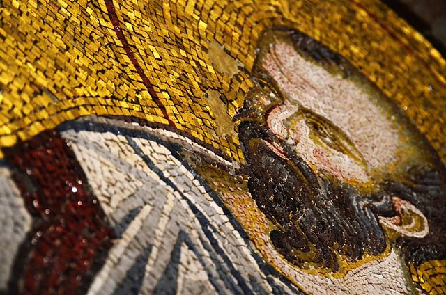 Mosaicos Salvador en Chora Estambul