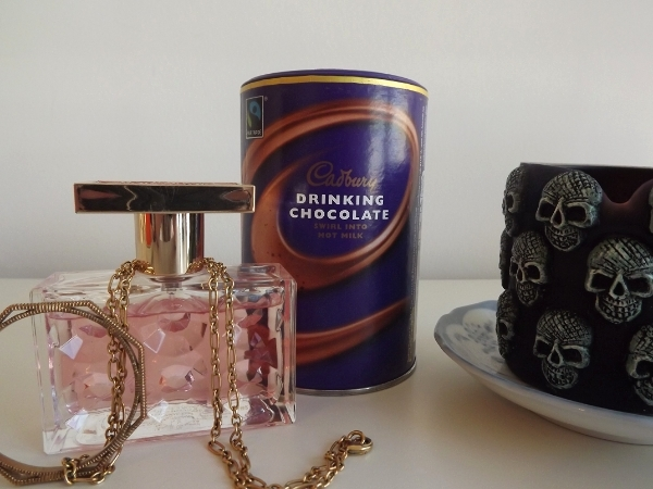 APC Necklace, Michael Kors Very Hollywood Perfume and Cadbury's Drinking Chocolate