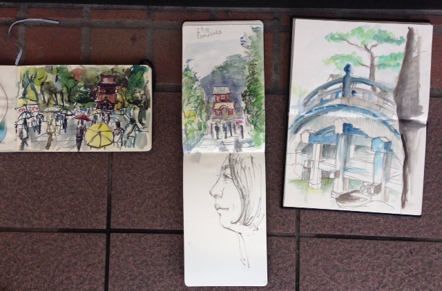 our Kamakura sketches