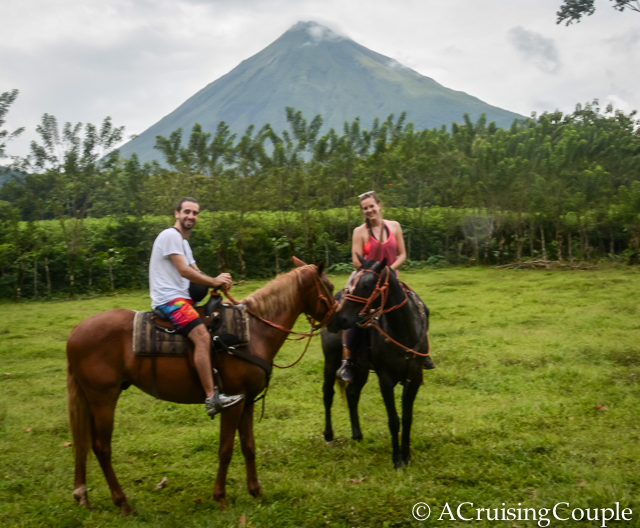 La Fortuna Horseback Riding Arenal Volcano A Cruising Couple