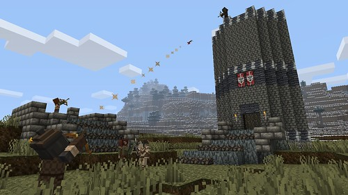 Minecraft Skyrim Edition