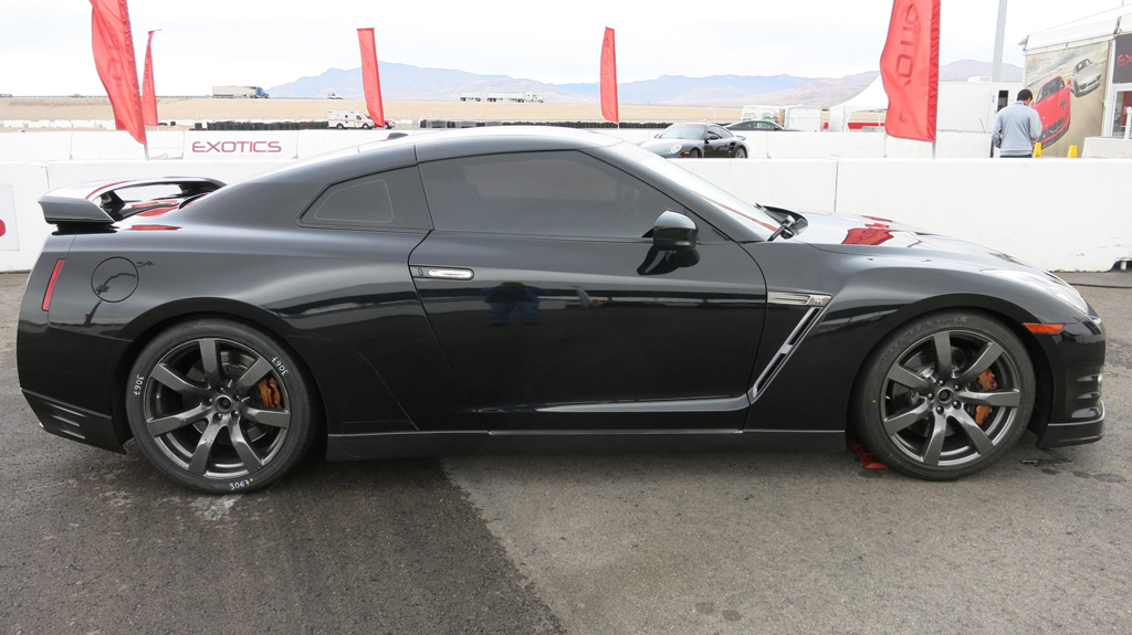 Exotics Racing black Nissan GTR
