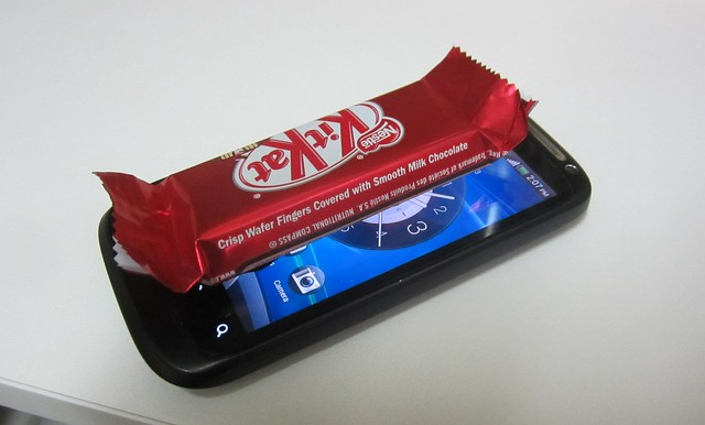 I've got Kit Kat on my phone